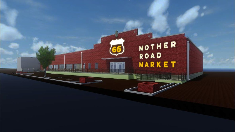 Mother Road Market Development On Route 66 Showcasing