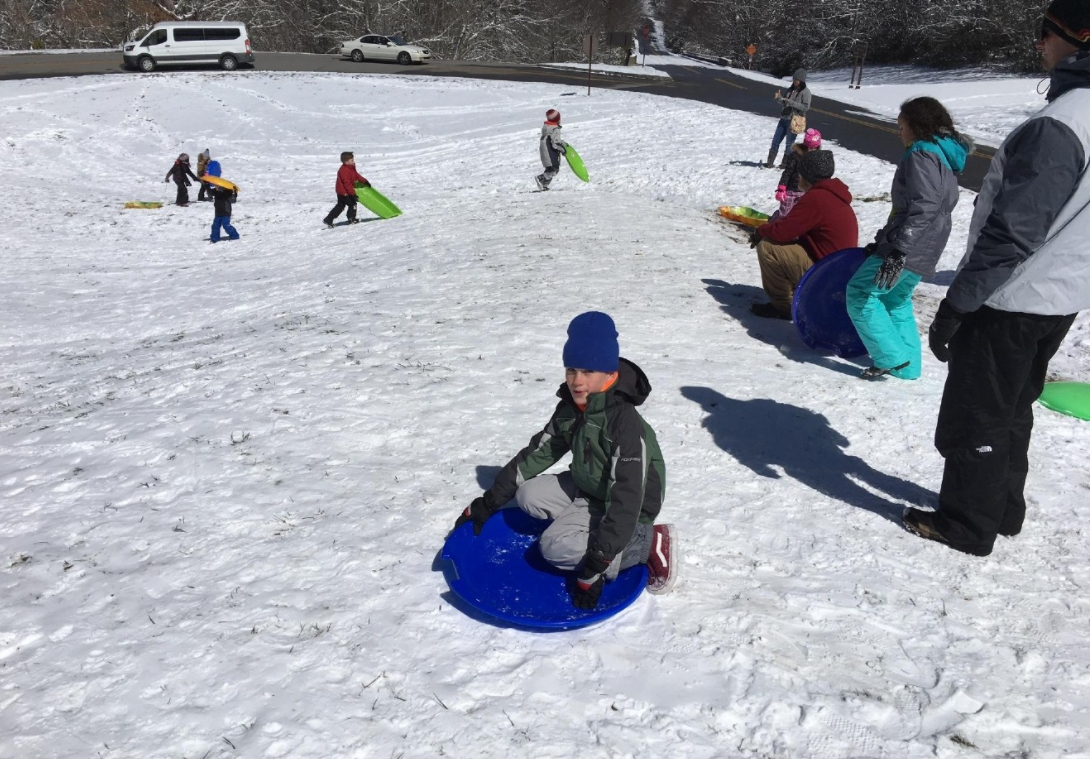 FILE -The cold weather and a chance of snow are good news for those who want to do some sledding. Where's your favorite sledding hill? (Photo credit: WLOS staff)