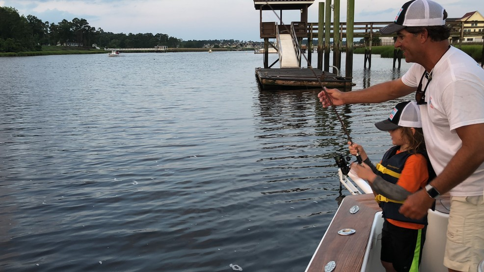 Captain smiley 39 s palmetto kids fishing camps teach fishing for Fishing camps for kids