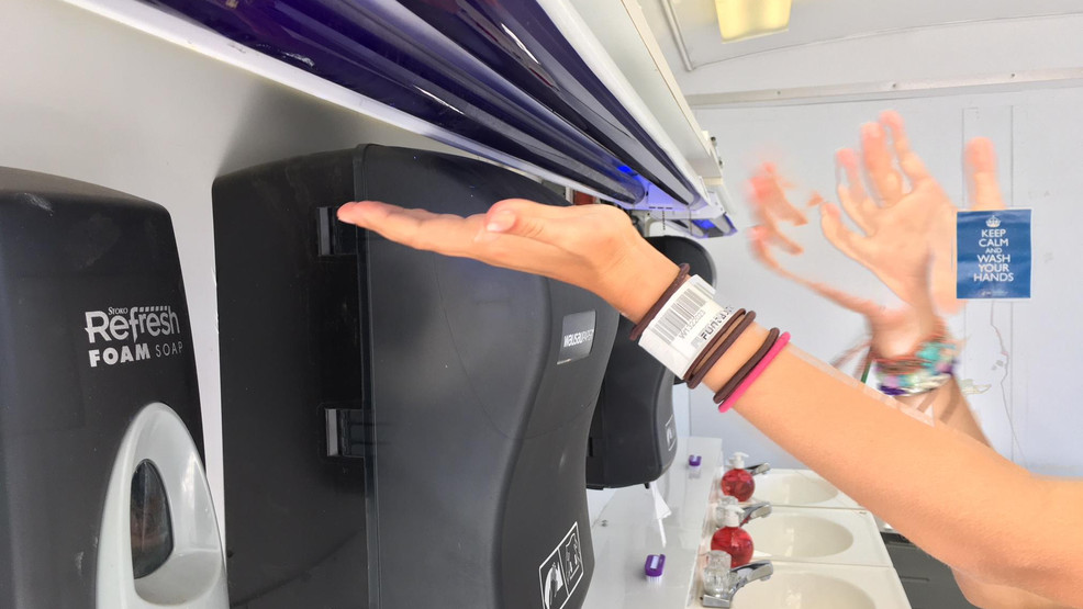 Handwashing station at Lane County Fair teaches people importance