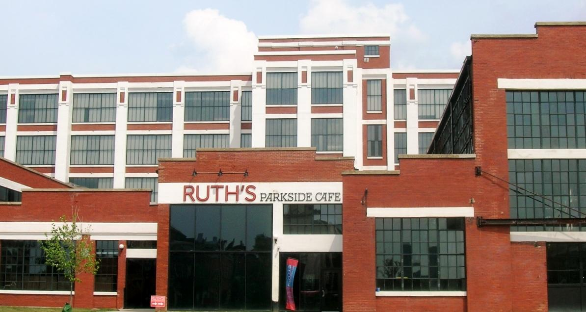 Ruth's Parkside Cafe, in the American Can Lofts building / (Image: Ericka McIntyre)