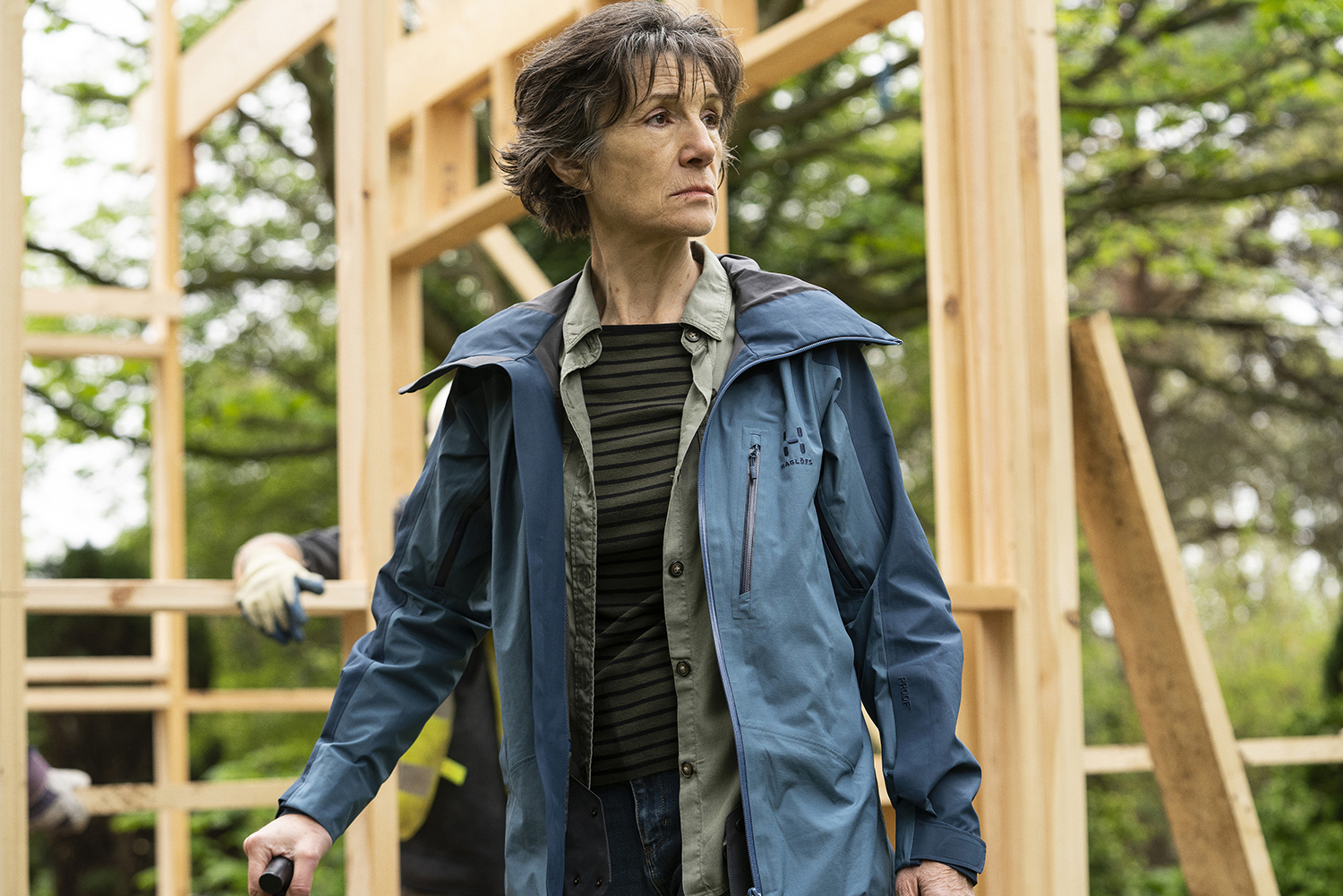 Harriet Walter stars in HERSELF (Photo: Pat RedmondCourtesy of Amazon Studios)