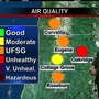 Forest fire smoke fouls air in communities across Western Oregon