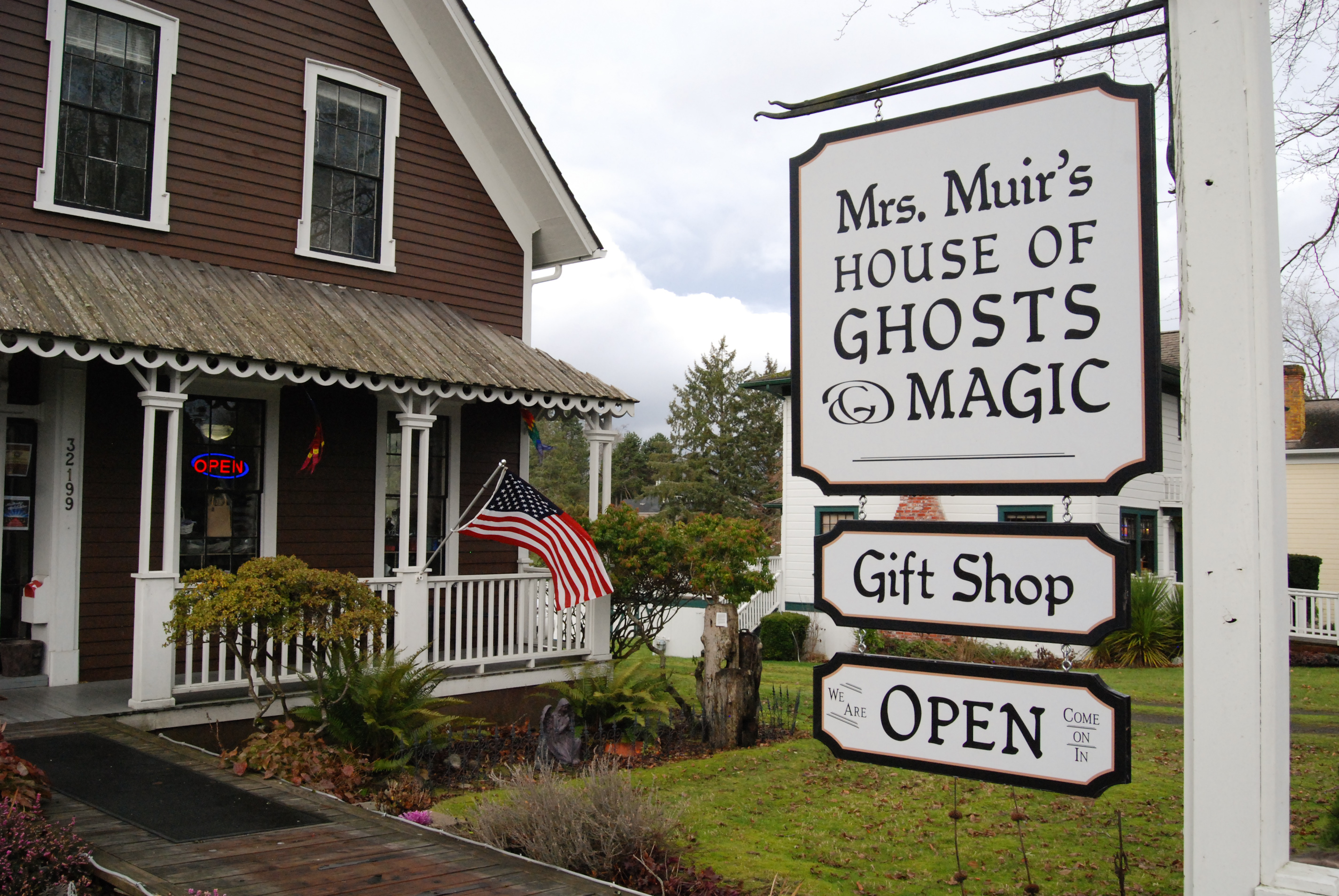 Mrs Muir's House of Ghosts and Magic is a great stop for those interested in Port Gamble's paranormal activities (Rebecca Mongrain/Seattle Refined)