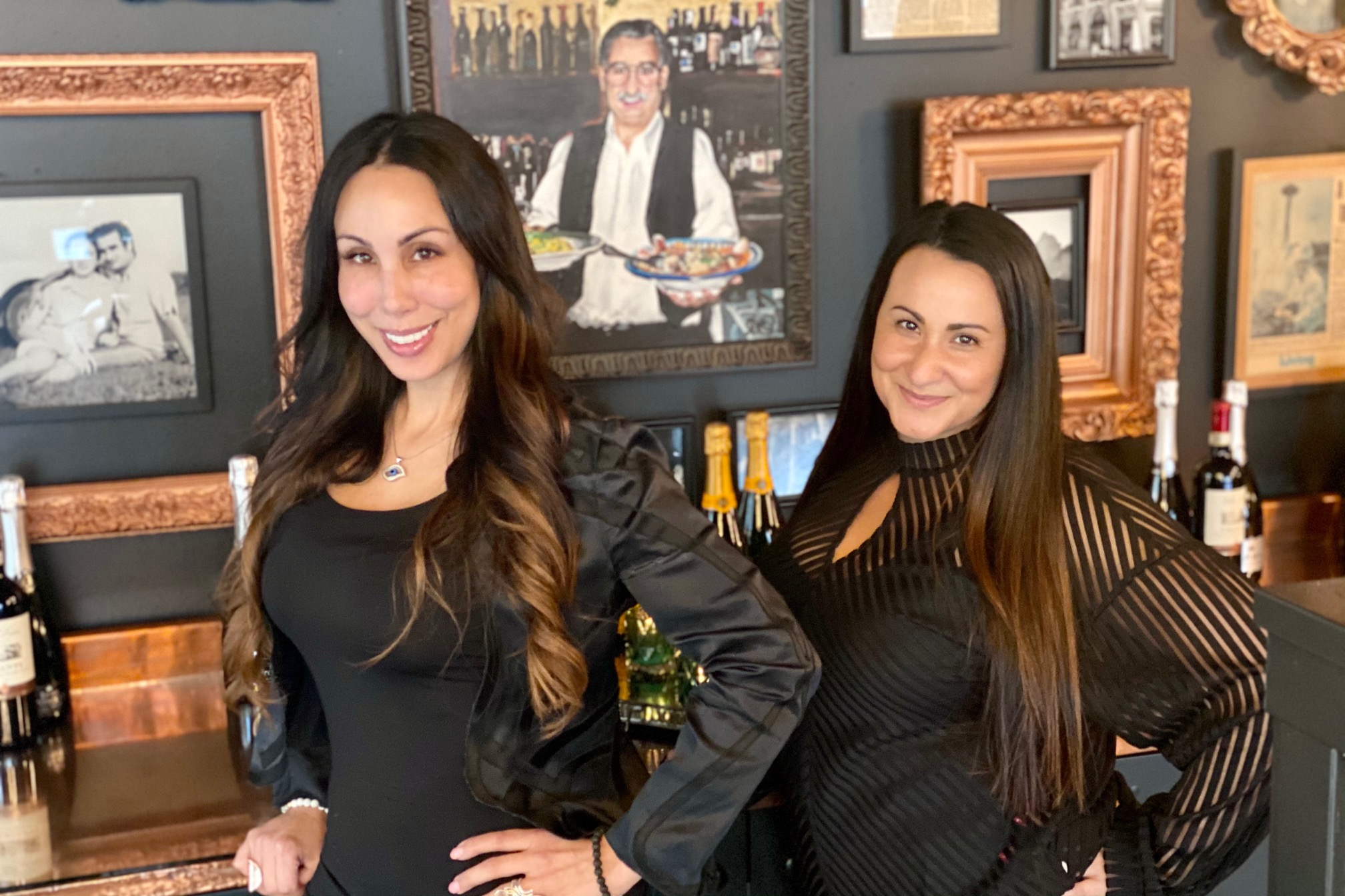 Sonya and Nadia Khazaal{&nbsp;}(Image: Karen Rose/Seattle Refined)<br><p></p>