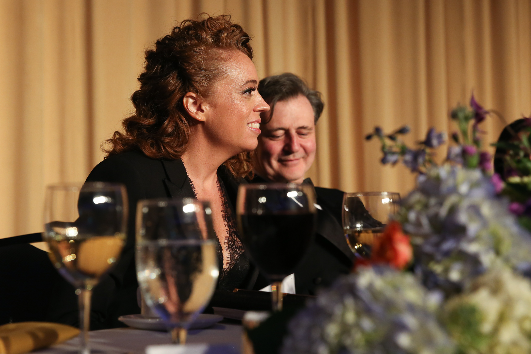 Comedienne Michelle Wolf lampooned politicians and media alike during the White House Correspondents' Dinner.{ }(Amanda Andrade-Rhoades/DC Refined)