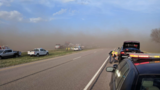 Police: Blowing dust causes 29-car pileup on I-80, one fatality