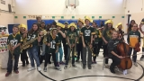 VIDEO | Green and Gold pride at MacArthur Elementary