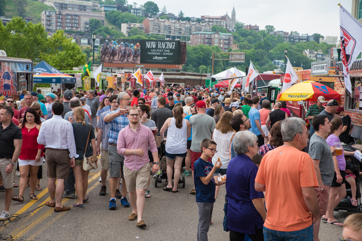 Taste of Cincinnati is the longest running culinary arts festival in the U.S. It's been held annually on Memorial Day weekend in Downtown Cincinnati since 1979. This year's festival runs May 27-29. / Image: Sherry Lachelle Photography // Published: 5.28.17
