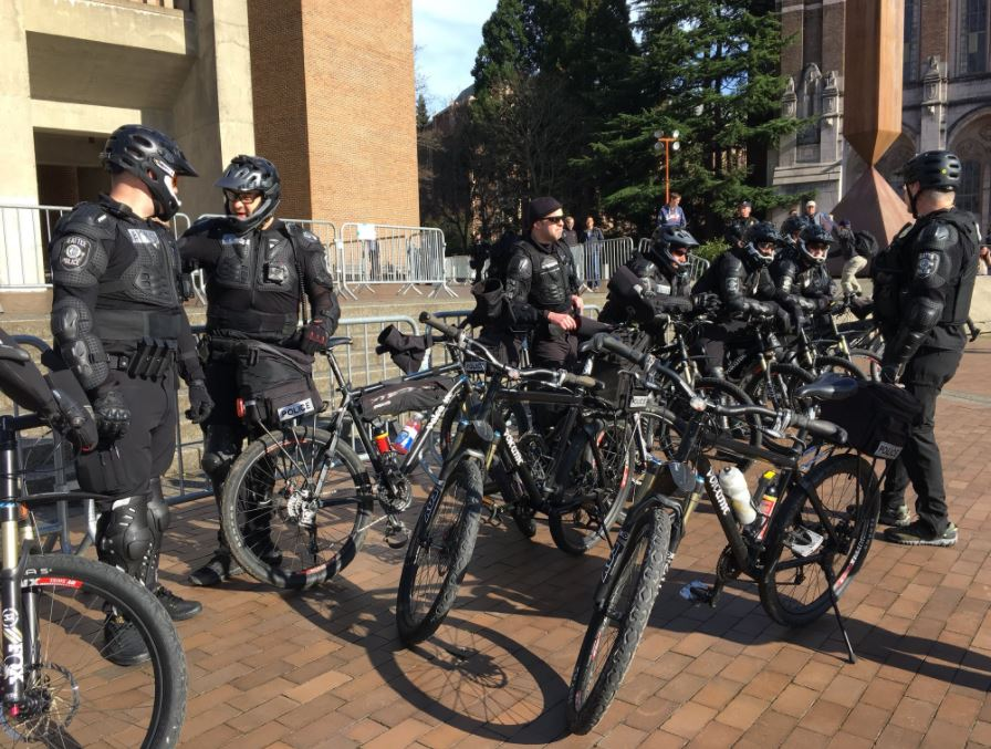 Day of protests at UW (KOMO News){&amp;nbsp;}<p></p>