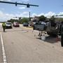 Rollover crash causes traffic delays in Stuart