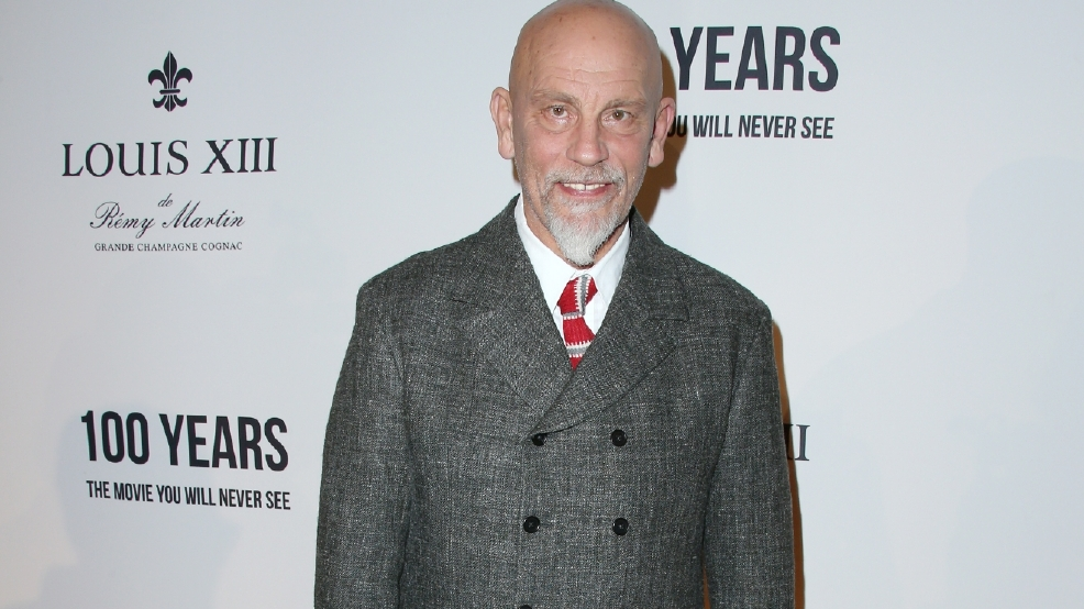 John Malkovich made a movie you'll never see: High-concept? Or elaborate promotion?