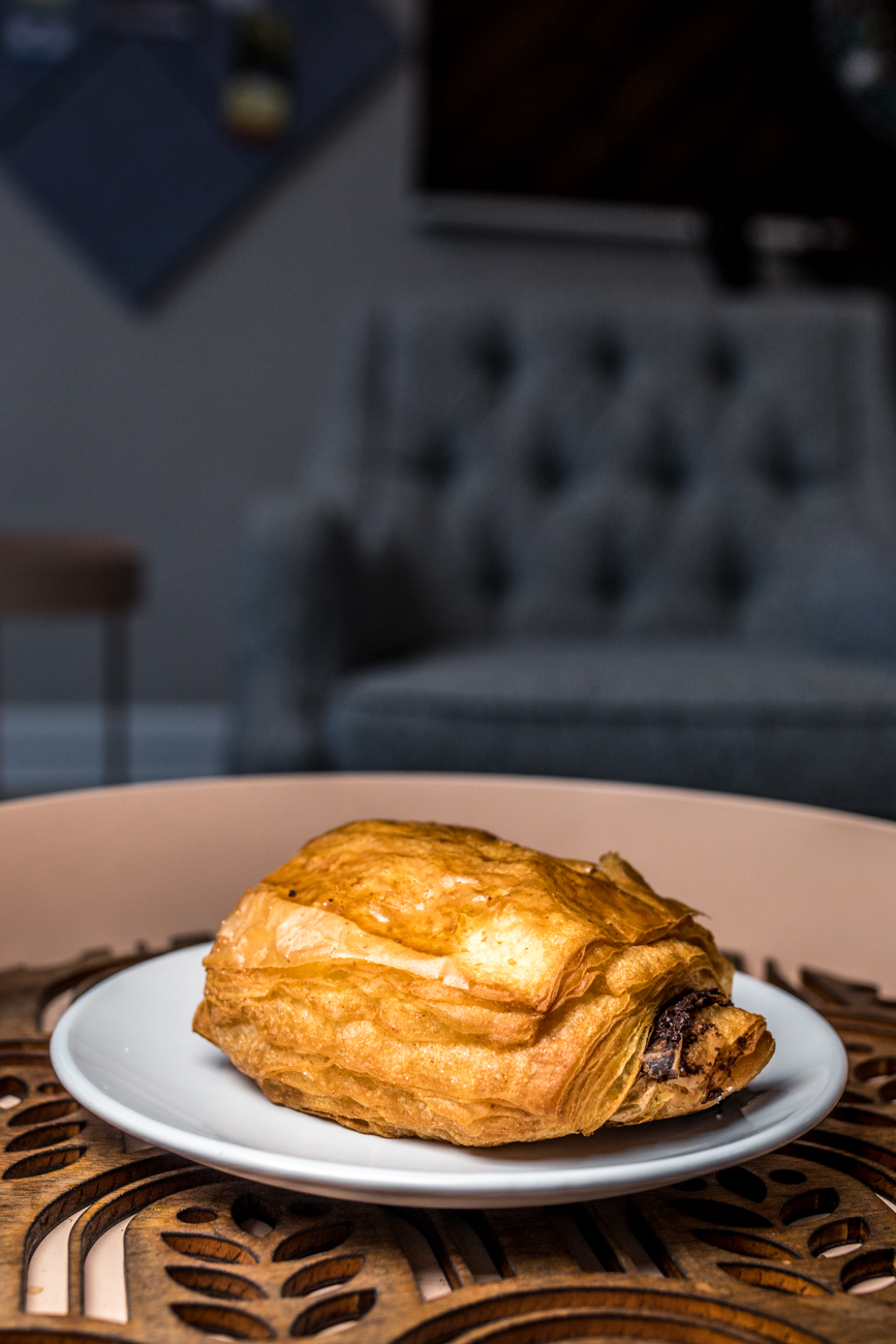 A chocolate croissant from North South Baking Co. / Image: Catherine Viox{ }// Published: 8.5.20