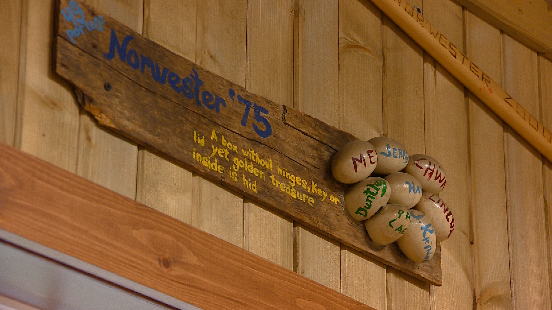 Camp groups have left their marks over the years (WLUK)<p></p>