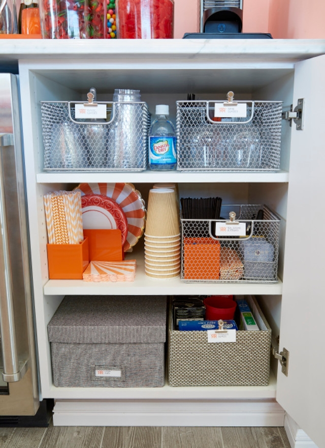 Have dedicated spaces for your belongings so things don't get messy and unorganized. (Photo: The Container Store)
