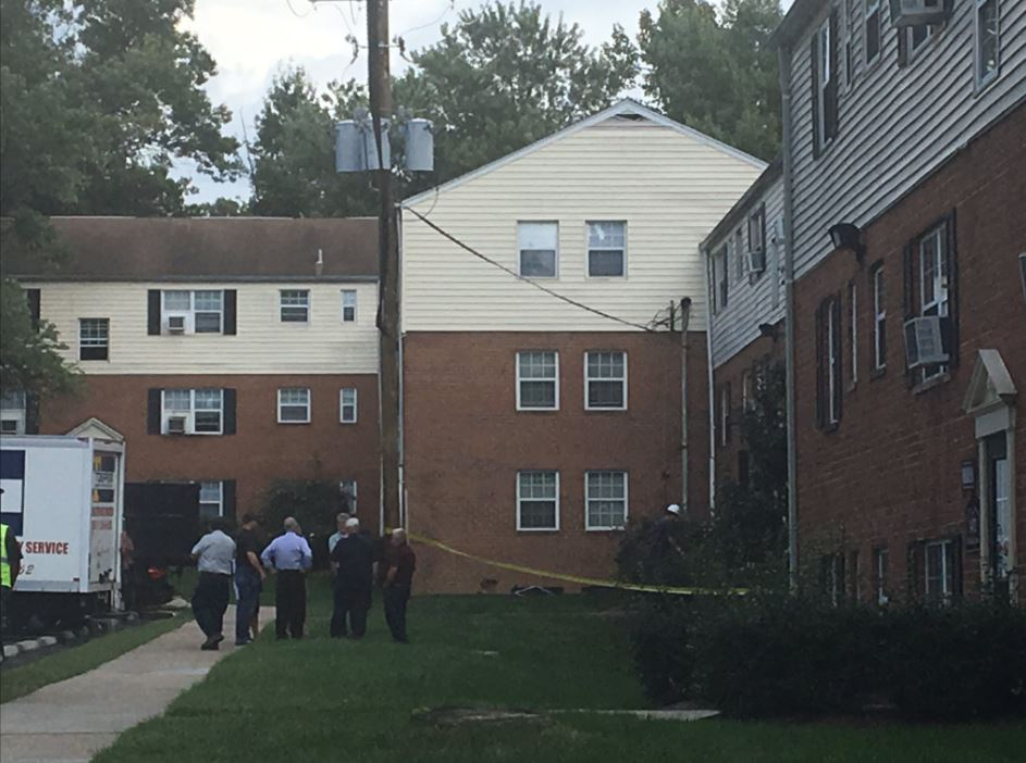 Police: Pregnant woman gives birth after being set on fire in Md., suspect arrested (Tim Barber/ABC7)