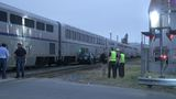 Driver who tried to beat Amtrak train dies in collision