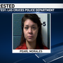 Las Cruces woman suspected of hitting officer after running away from him