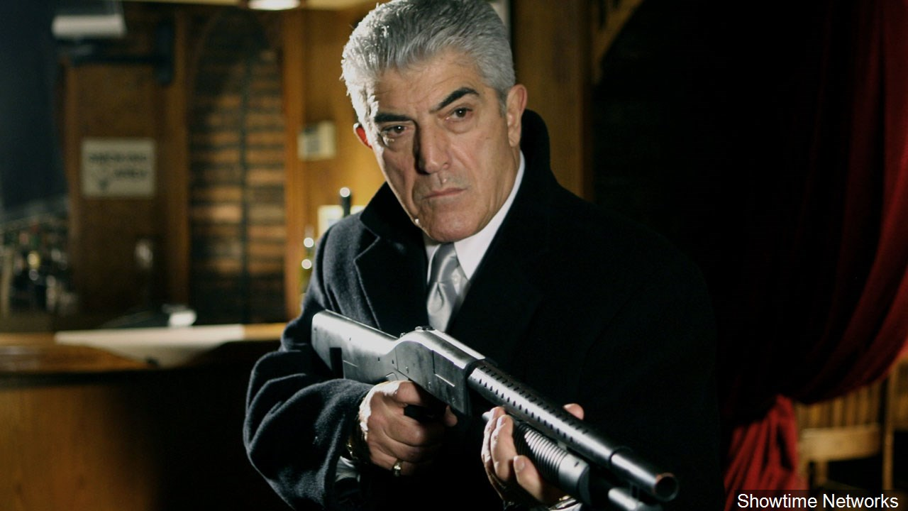 Actor Frank Vincent died Sept. 13, 2017. He was 80. (Showtime Networks/MGN Online)<p></p>