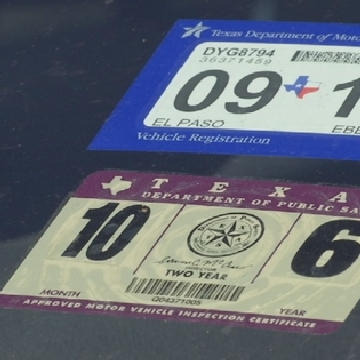 el paso county tax office vehicle registration