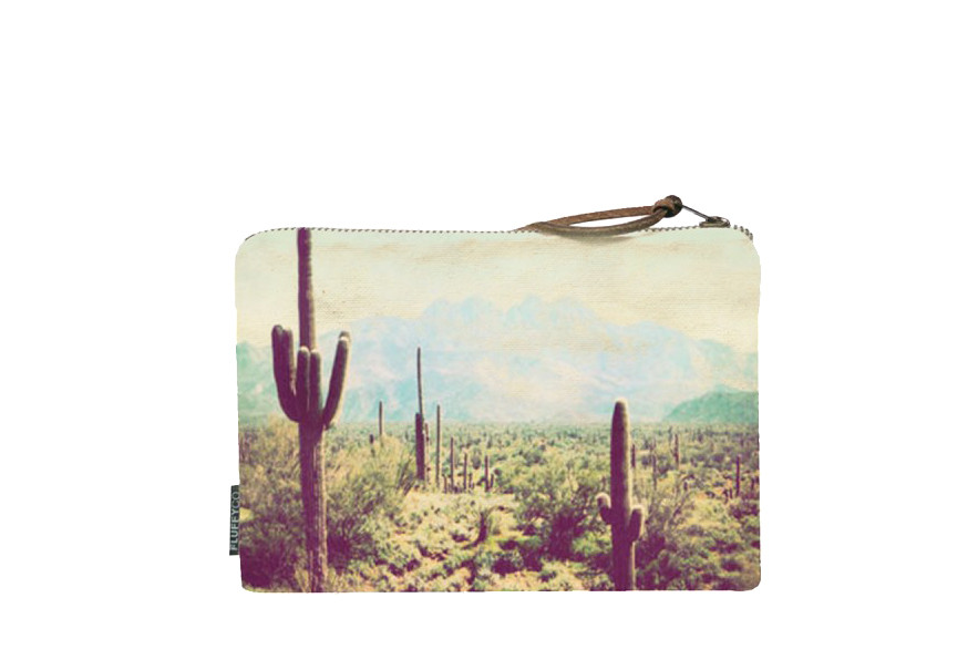Cactus Photo Clutch by Fluffy Co. from Moorea Seal Collection ($28). Find on mooreaseal.com. (Image: Moorea Seal)
