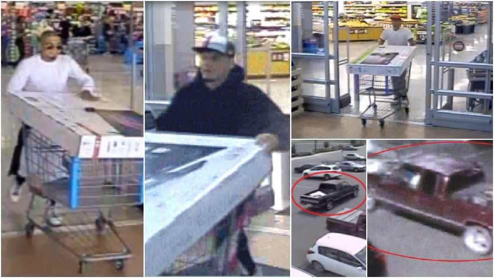 Video shows 'fast moving' thief stealing televisions from