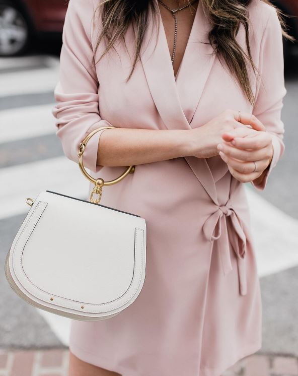 IMAGE: IG user @stylemba / POST: Petal pink with @nordstrom currently live on styleMBA.com