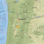 3.1-magnitude earthquake recorded southwest of Silverton