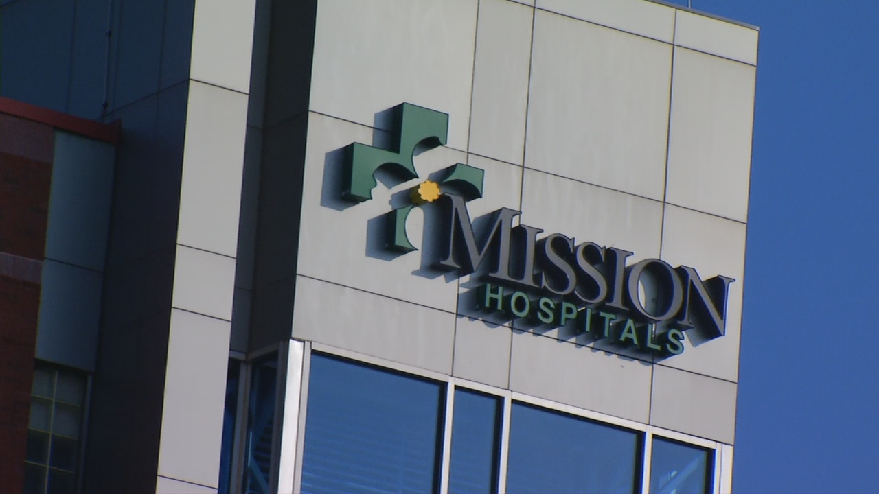 Today is the day. If an agreement between Mission Hospital and Blue Cross Blue Shield of North Carolina is not reached before midnight on October 4, 2017, thousands of patients will have to pay higher out-of-network rates if they wish to continue care at Mission.   (Photo credit: WLOS Staff)