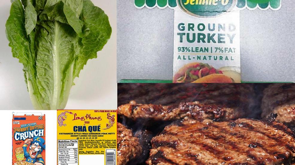 Updated list of recent recalls: romaine lettuce, beef
