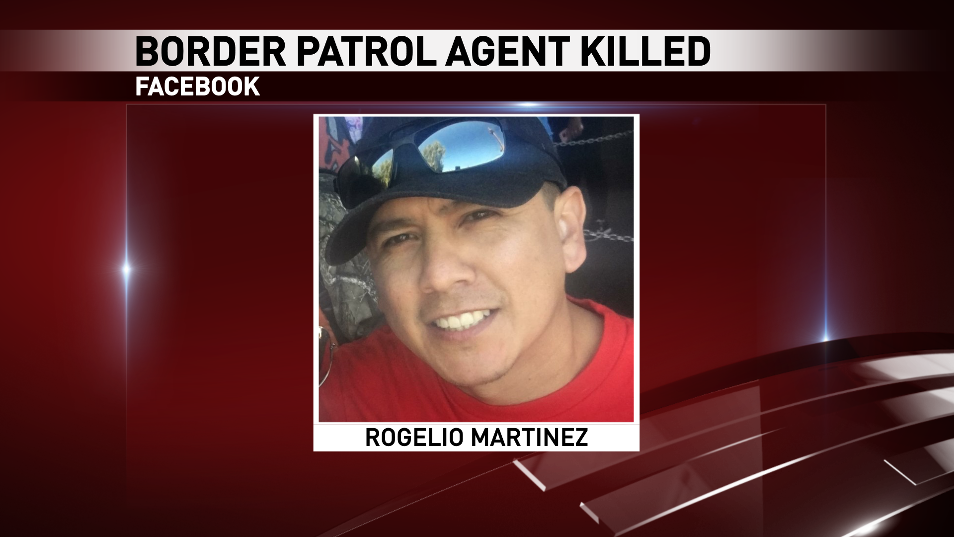 Rogelio Martinez of El Paso. He was killed in an incident while on duty near Van Horn, Texas Sunday, Nov. 19, 2017. (Credit: Facebook)