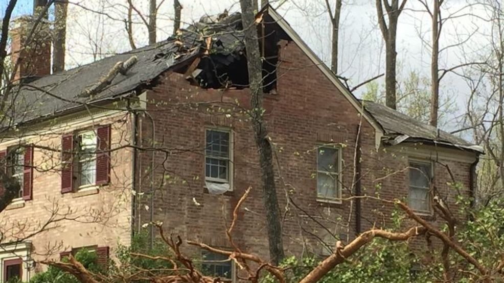 Families in Lynchburg working to remove trees from and fix