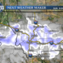 Light snow possible Sunday night