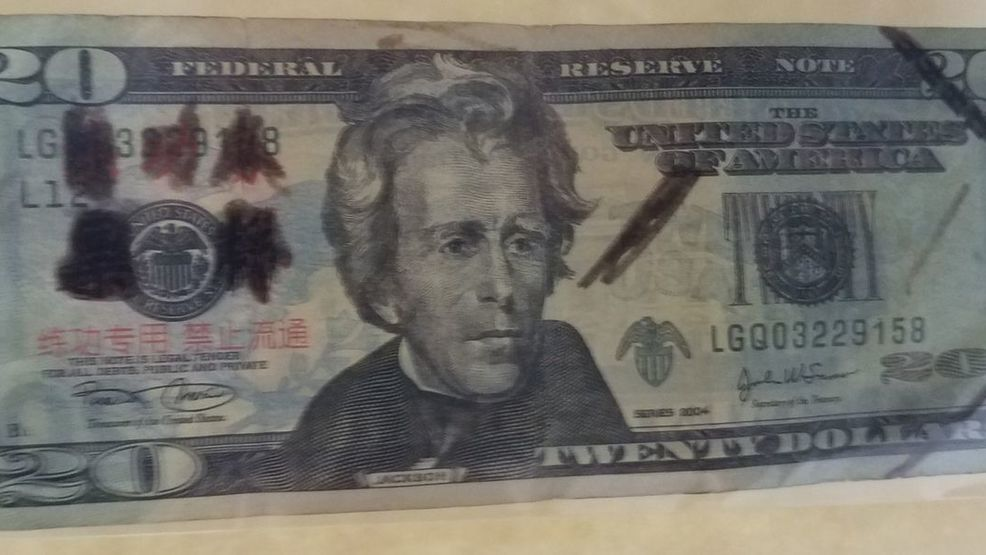 Fake $20 bills in Calloway Co., KY (CALLOWAY COUNTY SHERIFF OFFICE).jpg