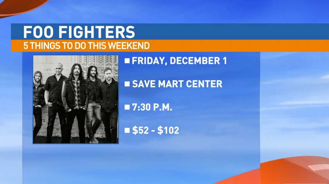 Foo Fighters Friday at the Save Mart Center