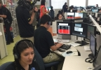 Students learn about 911 operations (Jeff Gillan KSNV News 3).jpg