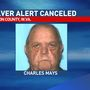 Missing Marion County man found, Silver Alert canceled