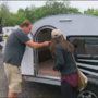 Camper found less than 48 hours after it was stolen out of small business lot