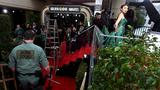 A soggy Globes red carpet awaits deluge of stars