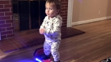 Have you seen the 11-month-old 'The Hoverboard Baby?'