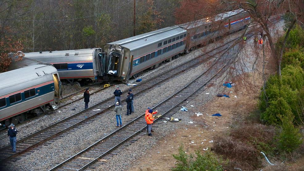 us investigators say deadly amtrak train crash preventable wlos