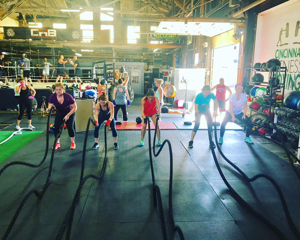 Cincinnati Fitness and Boxing combines the regimen and technique of boxing with a good old-fashioned workout class. ADDRESS: 2929 Spring Grove. Ave (45225) in Camp Washington / Image courtesy of Cincinnati Fitness and Boxing // Published: 2.13.18