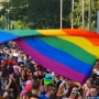 At gay pride parades, a year to weave sorrow and celebration