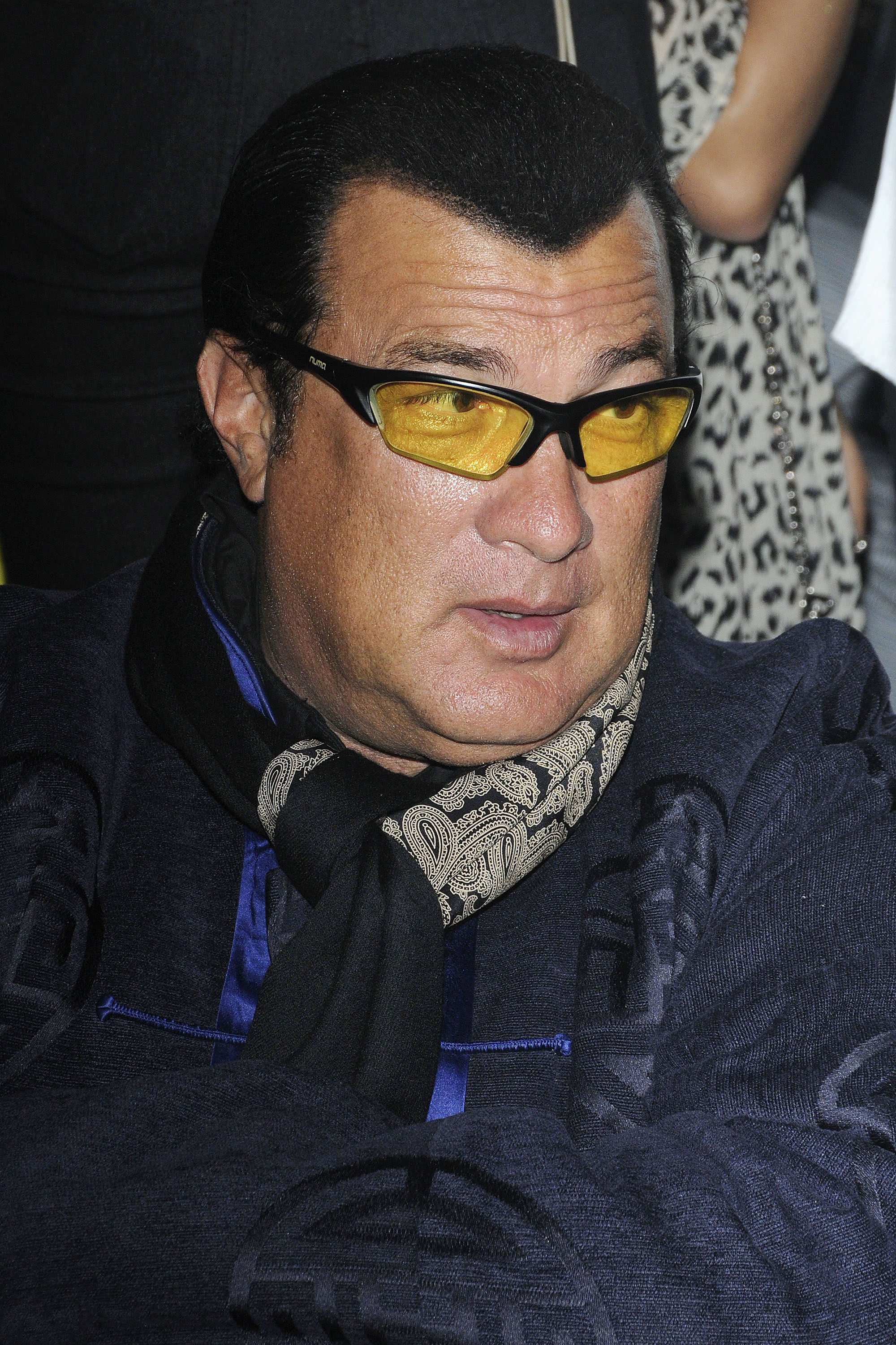 Steven Seagal at the 'Teenage Paparazzo' post-screening gala at Live Nightclub in Toronto on Oct. 12, 2011. (Dominic Chan/ WENN.com)