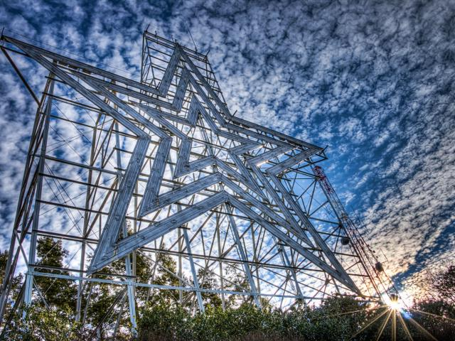 Roanoke Star Mill Mountain (Image: Terry Aldhizer Photography)<p></p>