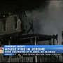 No injuries reported in Somerset County house fire
