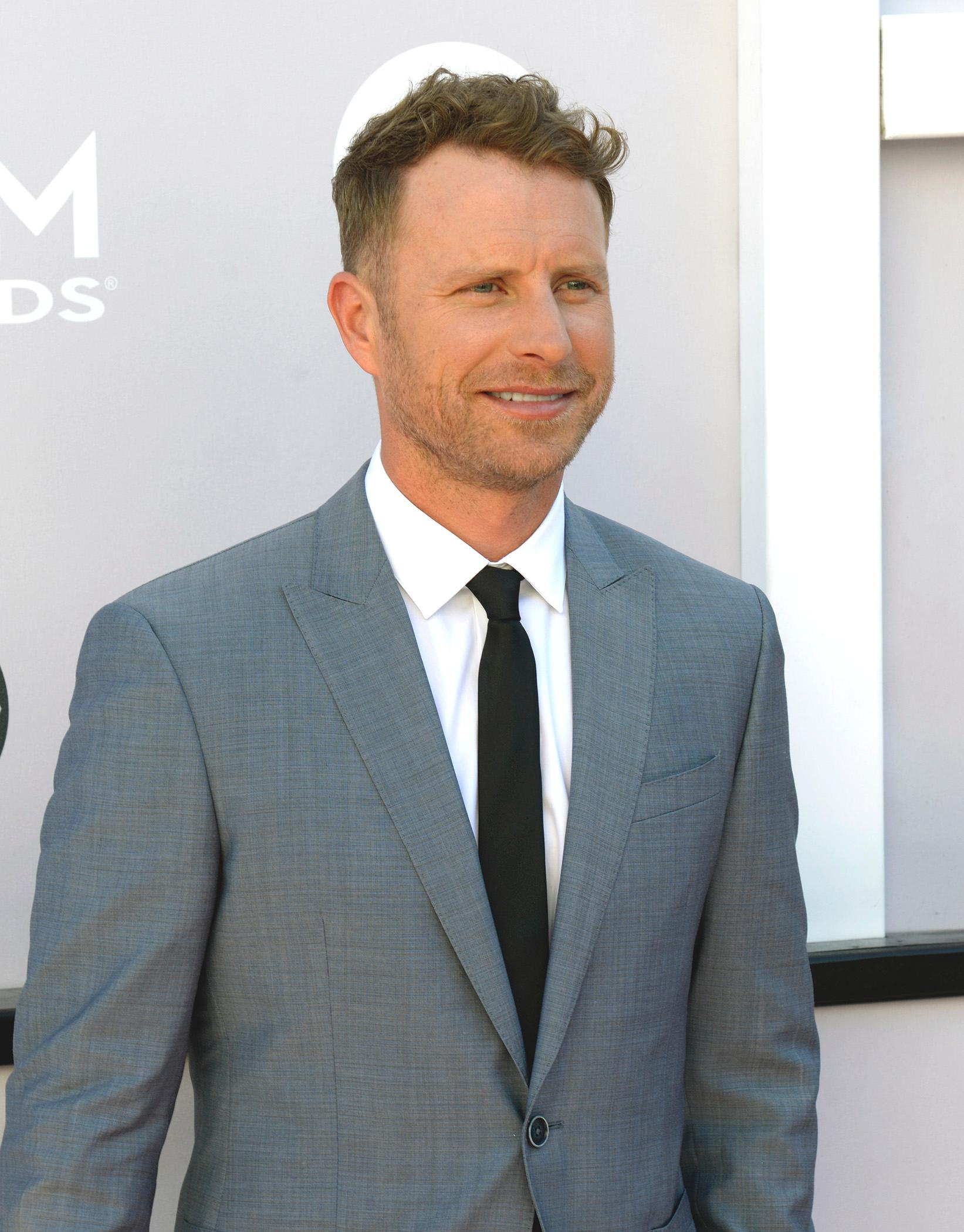 Dierks Bentley, host and nominee for Album of the Year, Male Vocalist of the Year and Vocal Event of the Year walks the Academy of Country Music Awards red carpet at T-Mobile Arena. Sunday, April 2, 2017. (Glenn Pinkerton/ Las Vegas News Bureau)