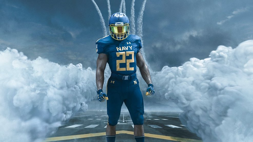 Navy Football unveils new Blue Angels inspired uniforms | WEAR