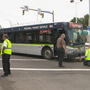 11 taken to hospital after RTS bus collides with vehicles