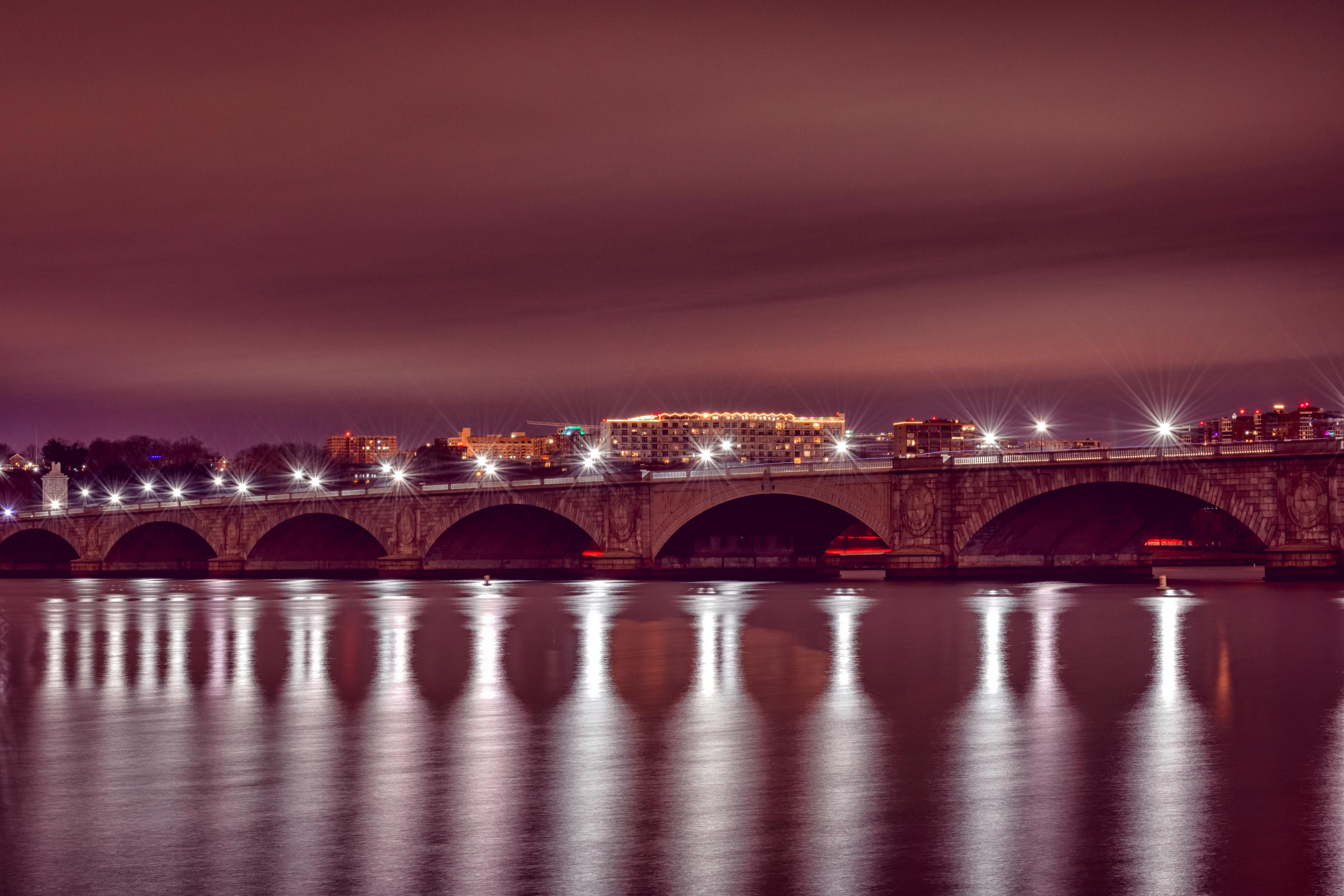 Early morning long exposure of Memorial Bridge. Taken with my dad just after Christmas, December, 2017. (Image: Adam Brockett){ }